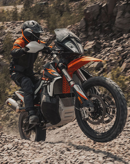 KTM Travel Range